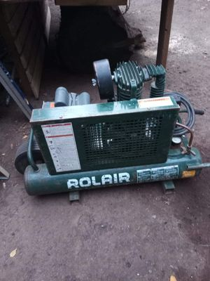 ROL-AIR COMPRESSOR for Sale in Vancouver, WA