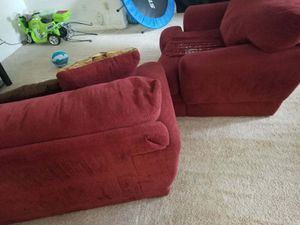 Red Sofa Set for Sale in Rockville, MD