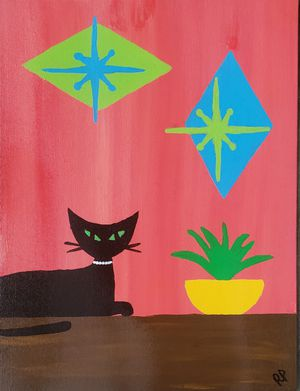 """""""Groovy Cat #2"""" for Sale in Sevierville, TN"""
