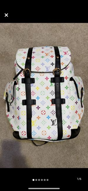 Louis Vuitton LV men's/women's backpack brand new for Sale in Modesto, CA