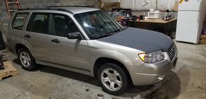 2007 Subaru Forester for Sale in MONTGOMRY VLG, MD