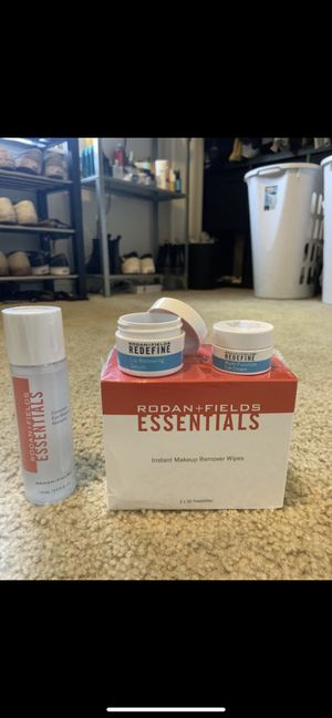 Skin Care. Acne care. Eye cream. Wrinkle remover. Makeup wipes. Rodan and fields for Sale in Ridgefield, WA