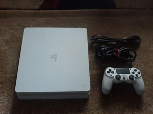 Playstation 4 ps4 500gb white slim for Sale in Auburn, WA