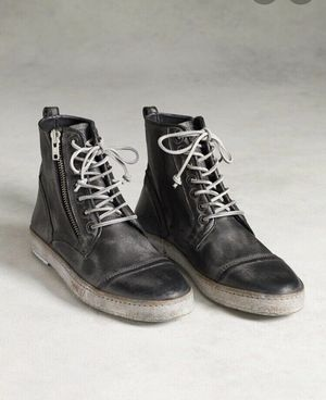 New John Varvatos metallic artisan zip sneaker boot for Sale in Los Angeles, CA