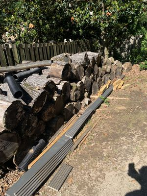 FREE. Firewood. If you have a splitter and the energy, you have firewood for YEARS!! Come and get it for Sale in Roswell, GA