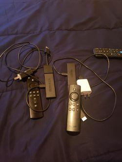 X2 Amazon firestick w alexa remote for Sale in Banning,  CA