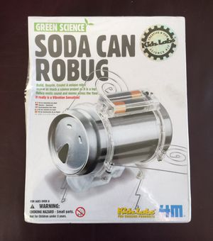 Soda Can Robug (Robot) Science Kit. BRAND NEW SEALED. 👉See my other offers👈 for Sale in Stockton, CA