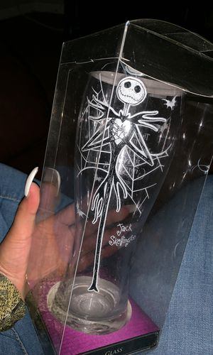 Nightmare before Christmas glass cup for Sale in Los Angeles, CA