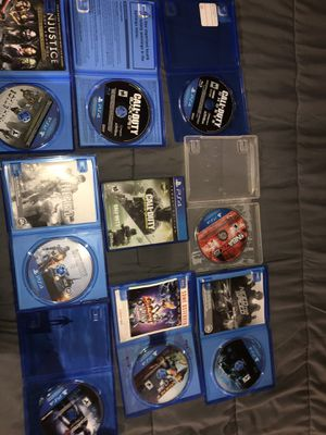 PS4 Games For Sale, Grab Today !! Cod Ghost - 9$ Cod Bo3 - 9$ Cod Infinite Warfare Legacy Edition Cod Remastered Included - 5$ Injustice Gods Among U for Sale in New Britain, CT