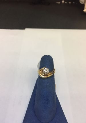 14kt YG engagement ring for Sale in IL, US