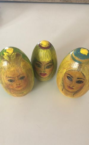 Easter eggs hand painted ! for Sale in Houston, TX