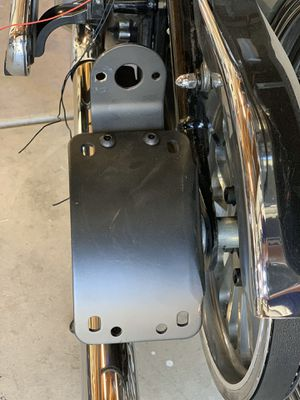 Motorcycle side mount for license plate new HD for Sale in Baldwin Park, CA
