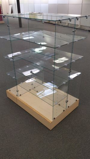 Tempered Glass Shelf Display for Sale in Sioux Falls, SD