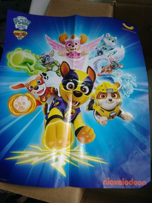 Paw patrol poster for Sale in Auburndale, FL