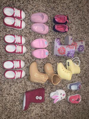 american girl/OG Dolls shoe assortments for Sale in Littleton, CO