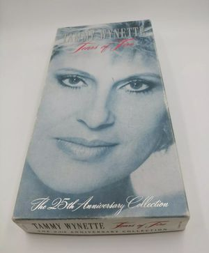 TAMMY WYNETTE TEARS OF FIRE 25TH ANNIVERSARY 3 Cassette COLLECTION Set NEW for Sale in Torrance, CA
