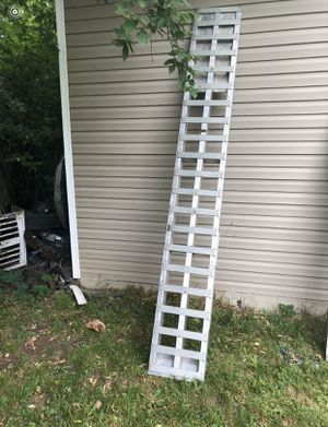 10 foot aluminum car hauler ramps for Sale in Pontiac, MI