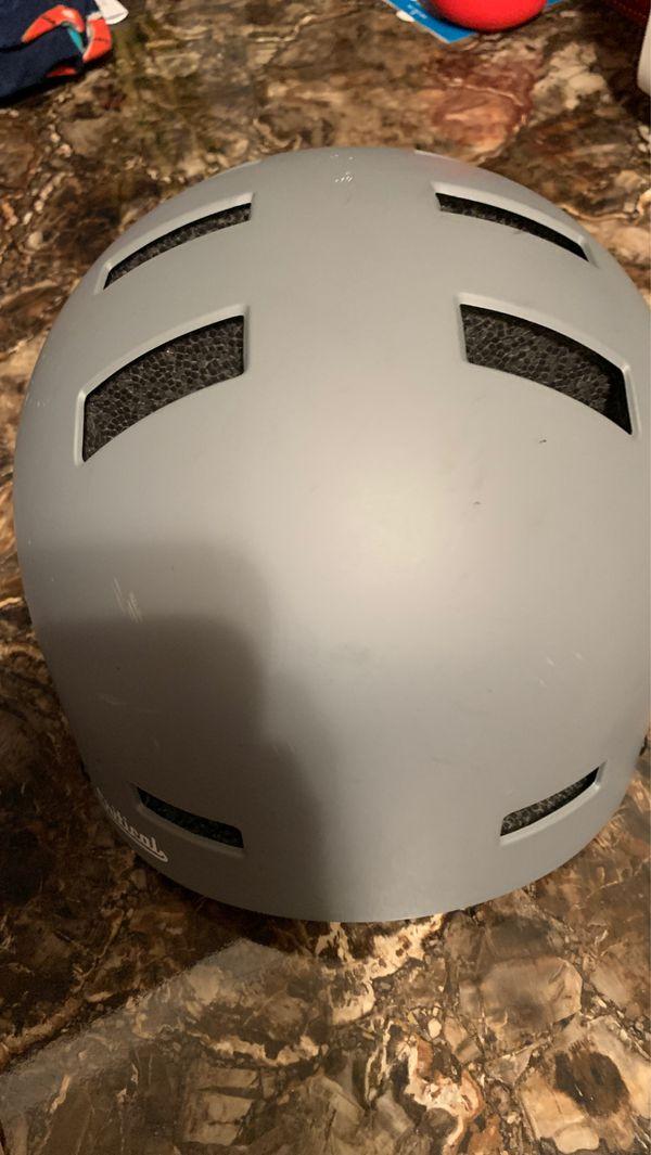 Critical Bike Helmet large Gray hardly used
