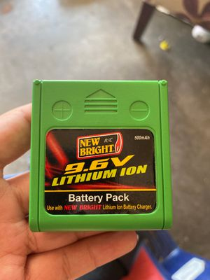 9.5v lithium ion battery pack for Sale in San Diego, CA
