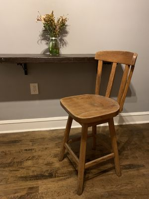 Solid Oak Swivel Chair for Sale in Chicago, IL