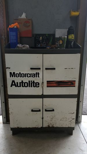 Antique shop cabinet autolite for Sale in Damascus, OR