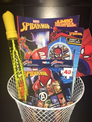 Spider-Man gift basket for Sale in Fontana, CA