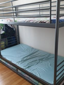 Twin Bunk Beds With Trundle And Mattresses for Sale in Oregon City,  OR