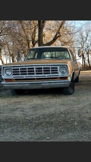 1973 Dodge D100 Long Bed for Sale in Newton, KS