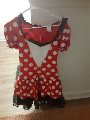 Minnie mouse costume dress for Sale in Pompano Beach, FL
