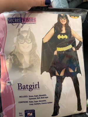 Plus size bat girl costume for Sale in Dracut, MA