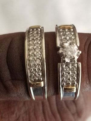 2 piece wedding ring set for Sale in Lanham, MD