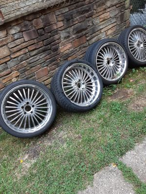 20 inch rims for Sale in FAIRMOUNT HGT, MD