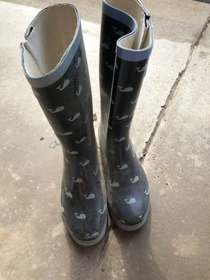 Dolphin rain boots women's size 7.5 for Sale in Wexford, PA