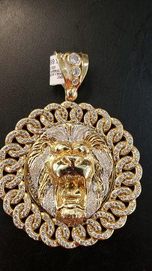 10k lion charm. for Sale in Bradenton, FL