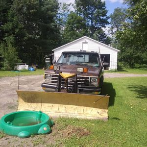 Plow and chevy parts truck for Sale in New Gloucester, ME