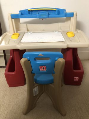 Kids table and chair - Kids 2-7years for Sale in Dublin, CA