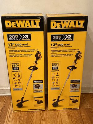 Dewalt trimmer Xr brushless with 4.0 xr battery and charger brand new for Sale in Downers Grove, IL