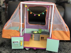 Adventure Pop Up Camper with Food,Lights, Pull Out Bed and more for Sale in Las Vegas, NV
