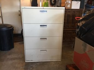 HON four drawer lateral filing / file cabinet for Sale in Chino, CA