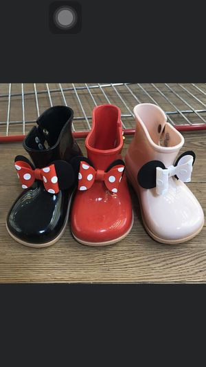 Mickey Kids Rain Boots(35261478) 🎁🚨🌲Christmas sale🎁🚨🌲preorder only!!! 4 colors Size:7.5c-12c for Sale in Memphis, TN
