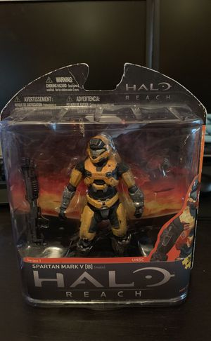 McFarlane Toys Halo Reach Series 1 Spartan Haztop Exclusive Action Figure (Gold) for Sale in San Diego, CA
