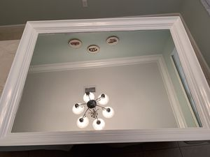 Solid wood mirror - gloss white for Sale in Lake Worth, FL