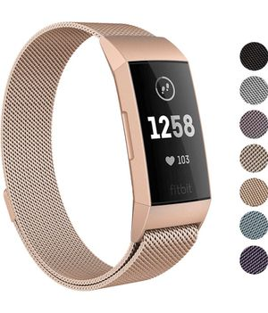 Rose gold Fitbit Replacement Band (Large) for Sale in Missoula, MT
