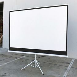 "New in box $70 Tripod Stand 100"" Projector Screen 16:9 Ratio Projection Home Theater Movie for Sale in El Monte,  CA"