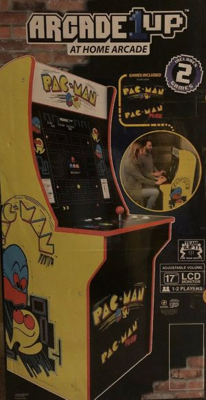 PAC-MAN 4FT ARCADE BRAND NEW!!SOLD OUT EVERYWHERE! LAST ONE for Sale in Boonsboro, MD
