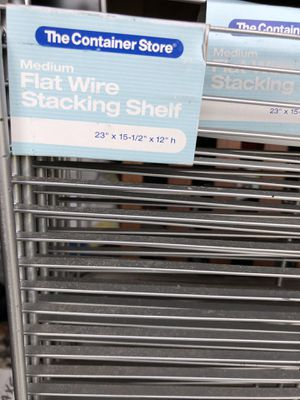 4 new Business office metal stacking shelves for Sale in Sumterville, FL