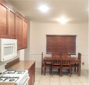 Beautiful Handcrafted Wood 7 Piece Kitchen Table Set for Sale for Sale in Lithonia, GA