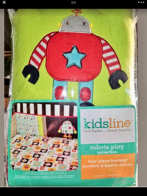 Baby crib bumper pad high quality new