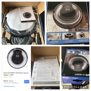 Shark ion rv700 robot vacuum for Sale in Orlando, FL