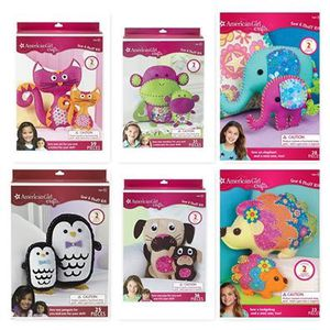 American Girl Dolls Craft Sets - Sew and Stitch Animals NEW. $10 each for Sale in Gresham, OR